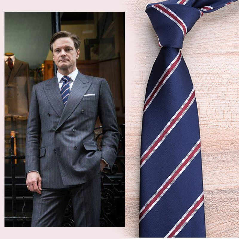Movie Kingsman: The Golden Circle Harry Hart Eggsy  Neck tie cosplay costume