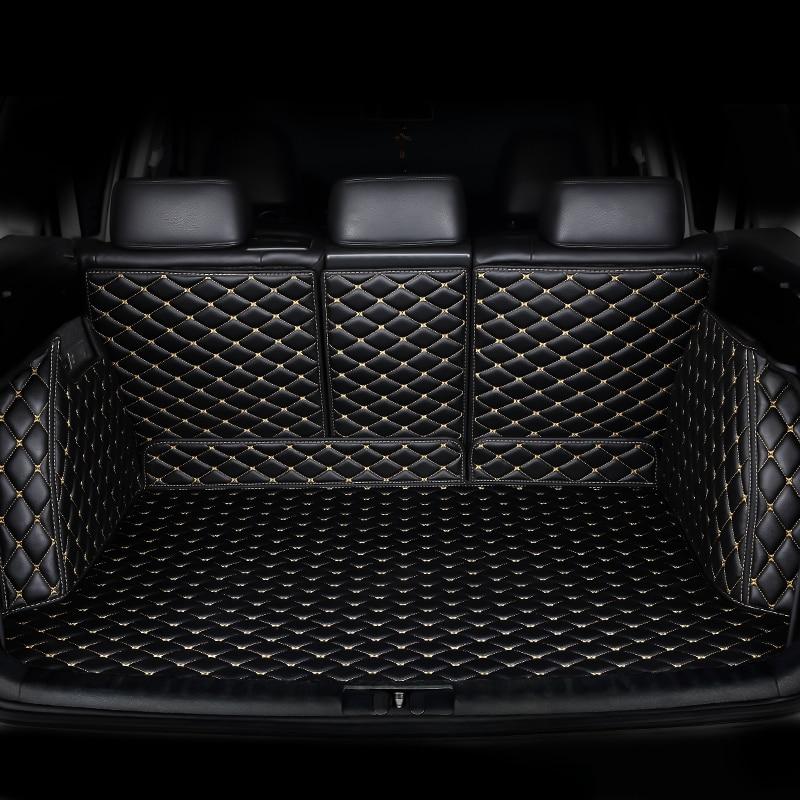 HeXinYan Custom Car Mat Tronco para Mitsubishi todos os modelos pajero sport pajero Outlander ASX auto acessórios do carro styling