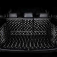 Tapis de coffre de voiture personnalisé HeXinYan pour Mitsubishi tous les modèles pajero sport Outlander ASX pajero accessoires auto style de voiture