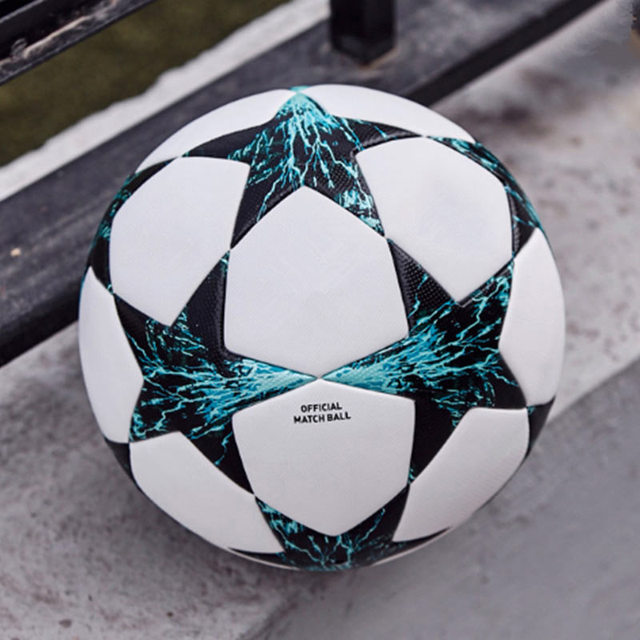 5 Size Soccer Ball PU Leather Football Children Outdoor Match Training Balls Kids Gifts ED-shipping