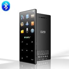Ruizu d29 nouveau lecteur MP3 Bluetooth lecteur de musique HiFi sans perte Audio Portable 8GB haut parleur intégré Radio FM E book horloge