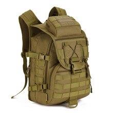 40L Impermeable Mochilas Molle Asalto Militar 3 P Mochila Táctica Bolsa de Viaje de Nylon para Los Hombres Las Mujeres M108
