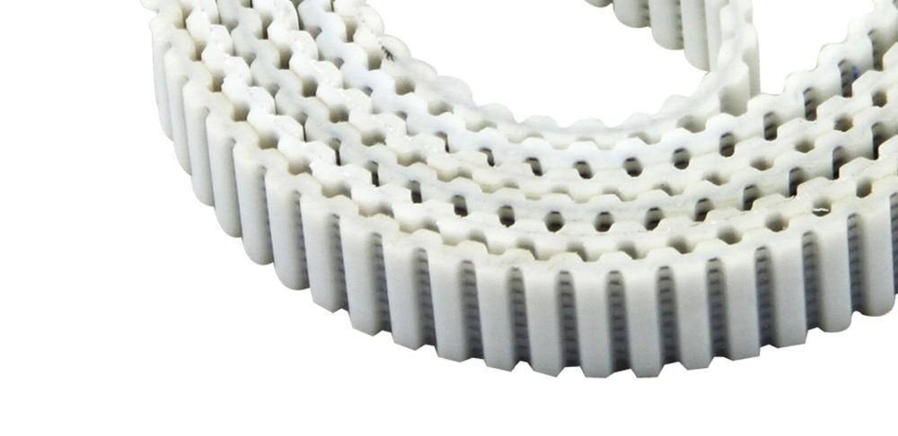 Купить с кэшбэком Free shipping 35mm widht AT10 type 8850mm length closed loop double teeth timing belt