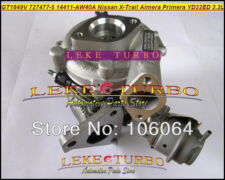 Turbo GT1849V 727477-5006S 727477-5007S 727477 Ölgekühlter - Autoteile - Foto 3
