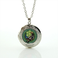 20mm glass cabochon dome silver plated Kingdom Hearts picture handmade  jewelry for women girls in the party HH208