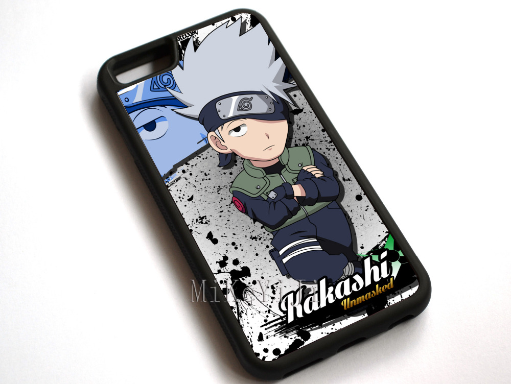 #11779 Anime Naruto Kakashi Hatake Case Cover For Apple
