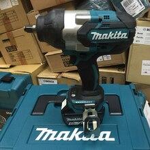 Makita 18 В литиевая батарея серии инструмент беспроводной ударный гайковерт зарядка бесщеточный Электрический ключ 1, 050Nm крутящий момент DTW1001RTJ/RMJ/Z