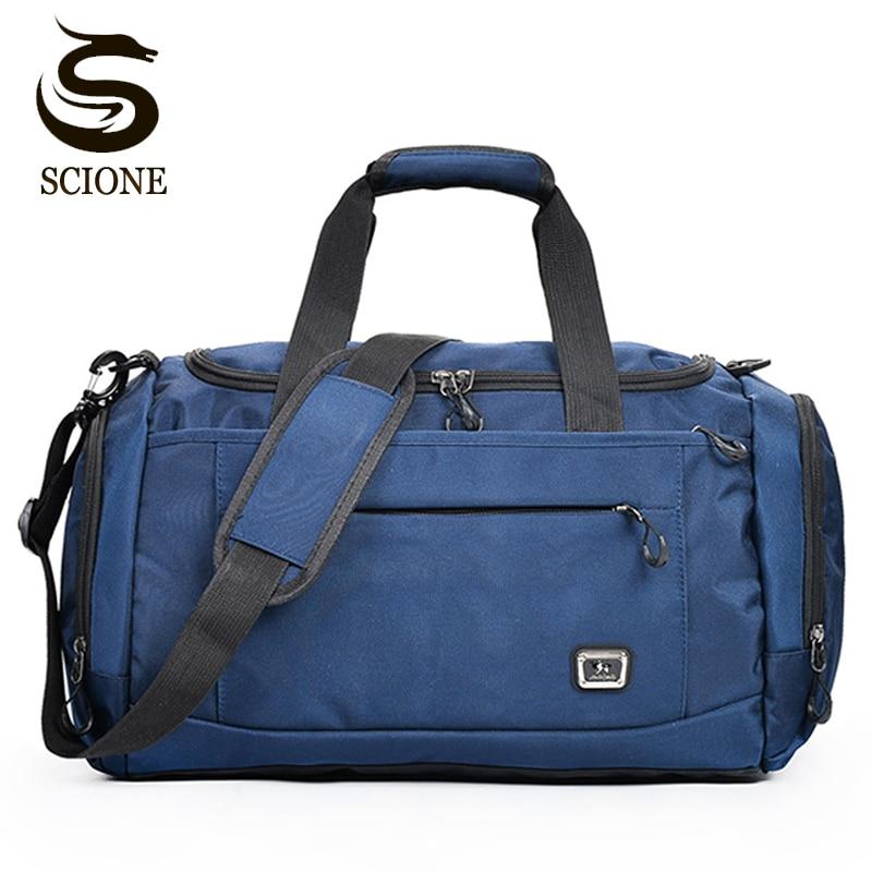 Men Women Travel Bags Leisure Shoulder Handbag Large Capacity Luggage  Travel Duffel Bags Male Duffle Tote 9ef2c4e32426e