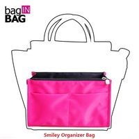 Baginbag Nylon Bags No Zipper Bag In Bags Organizer For Smiley Bag Travel Package Handbags
