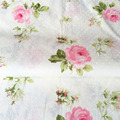 ZY 160*50CM Pink Rose Flower Dot 100% Cotton Fabric Solid Color DIY Tissue Patchwork Telas Sewing Baby Toy Quilting Plain Tecido