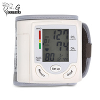 Health Care Portable Wrist Blood Pressure Pulse Meter Digital Automatic Blood Pressure Monitor Household Heart Beat