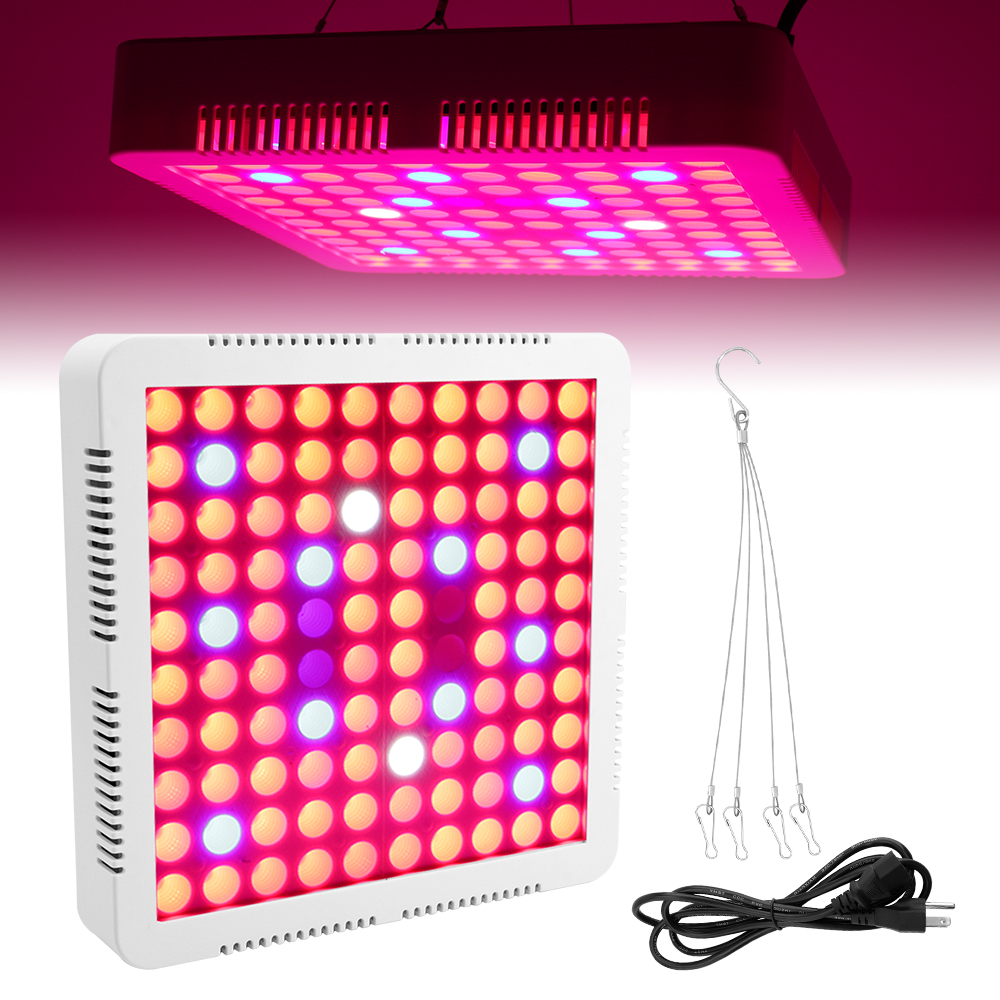 BORUiT 300W LED Grow Light Full Spectrum LED Plant Growing Light Lamp for Indoor Greenhouse Plant