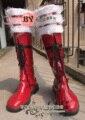 Blue Exorcist Ao no Futsumashi Ao no Exorcist okumura rin okumura rin cosplay Amaimon traje caballero patea los zapatos de la zapatilla de deporte botas