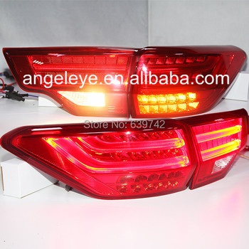 For TOYOTA Kluger Highlander LED Tail Lamp 2014 year Red Color BZW