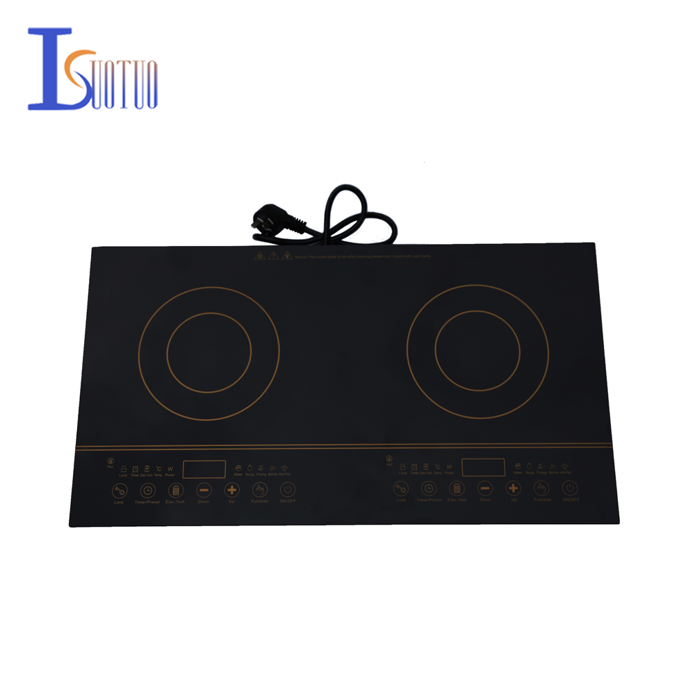 JHX-838 dual-head multifunctional Induction Cooker intelligent  household battery stove dmwd electrical magnetic waterproof induction cooker intelligent hot pot stove with timer ceramic induction household cooktop eu