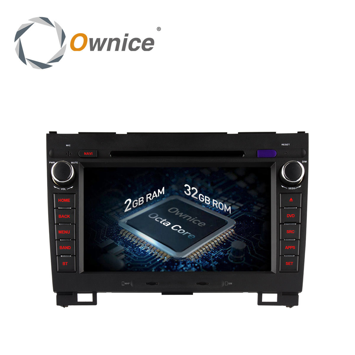 imágenes para Ownice c500 android 6.0 octa 8 core coches reproductor de dvd gps navi para Great Wall Hover H3 H5 wifi 4G de radio 2 GB RAM 32 GB ROM 4G LTE