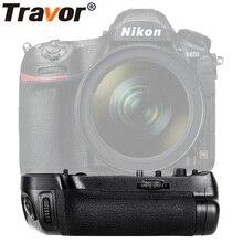 Travor Вертикальная Батарейная ручка для Nikon D850 DSLR камера работает с EN-EL15 или 8 шт. AA батареи как MB-D18