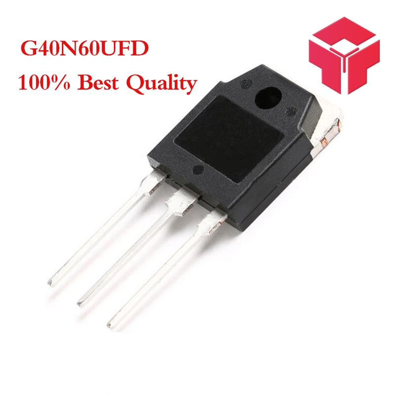 5PCS/LOT SGH40N60UFD G40N60UFD G40N60 40N60 TO 3P 40A 600V-in Transistors from Electronic Components & Supplies