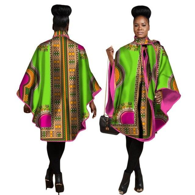 2019 nouveau printemps et automne femmes africaines coton robe de grande taille M-6XL