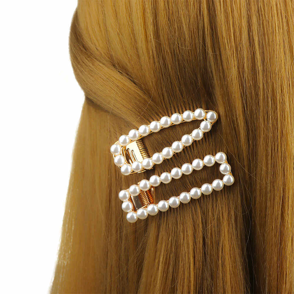 New Arrivals Ladies Vintage Gold Silver Color Leopard Simulated Pearls Hair Stick Bridal's Hair Pin Hair Stick Accessories