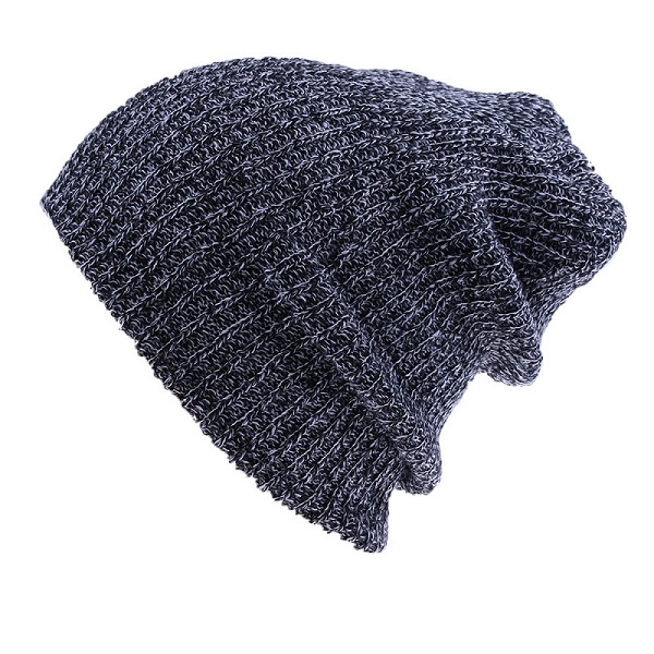 1 PC Unisex Chic Baggy Beanie Winter Warm Oversize Ski Slouchy Knit Hat Men Women Skull Cap New 7 colors