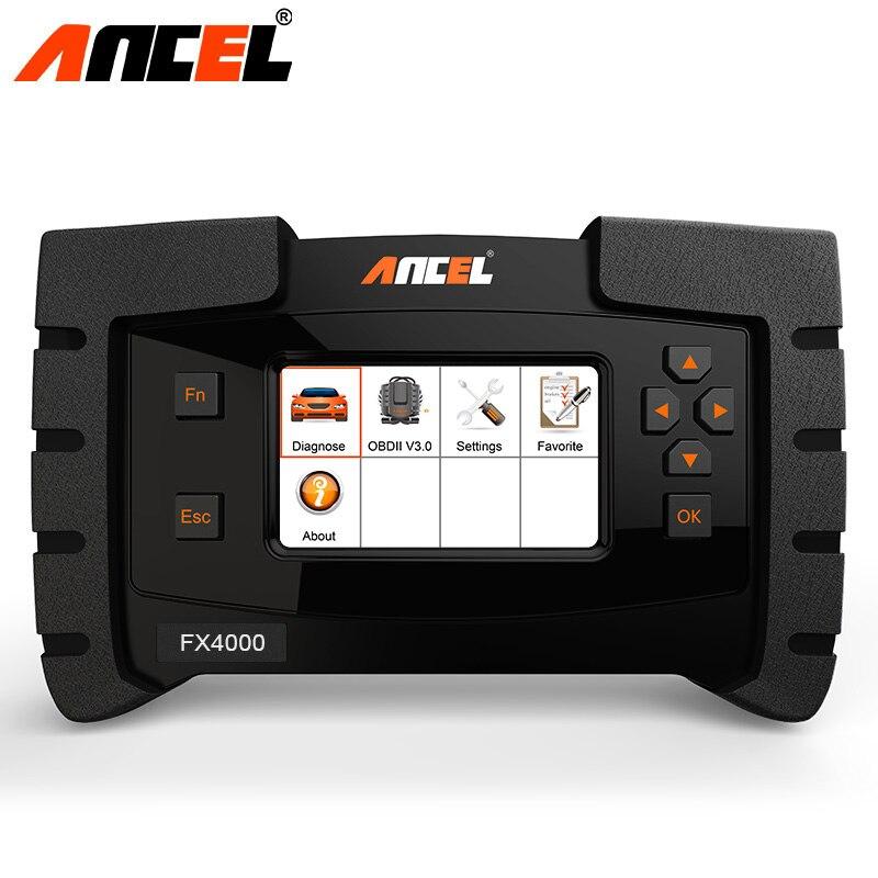 Ancel FX4000 OBD2 Outil De Diagnostic Système Complet Voiture Moteur ABS Airbag SRS EPB Transmission Flux de Données OBD Voiture De Diagnostic Outil