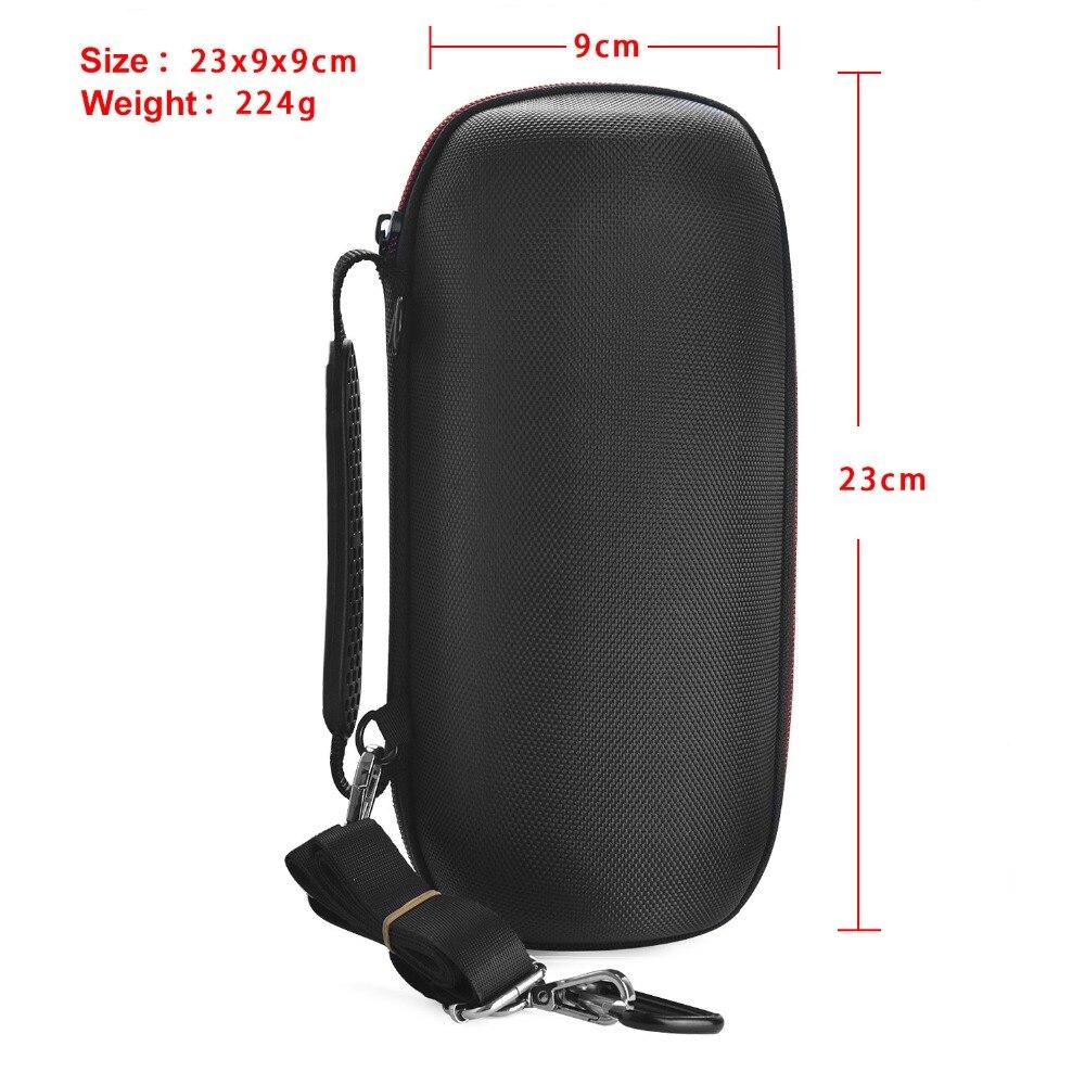 Купить с кэшбэком New EVA Travel Protective Wireless Bluetooth Speakers Cases For for JBL charge3 charge 3 Wireless Bluetooth Speaker Zipper Bags
