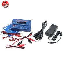 Батареи Lipro Баланс Зарядное Устройство iMAX B6 зарядное Lipro Цифровой Баланс Зарядное Устройство/Разрядник + 12 В 5А Адаптер Питания + зарядка Кабели