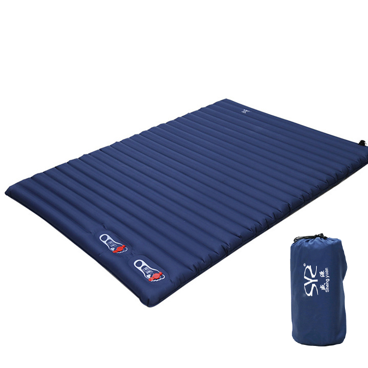Outdoor Camping Mat Inflatable air Mattress Double 2 Person Portable Sleeping Pad Tent Air bed