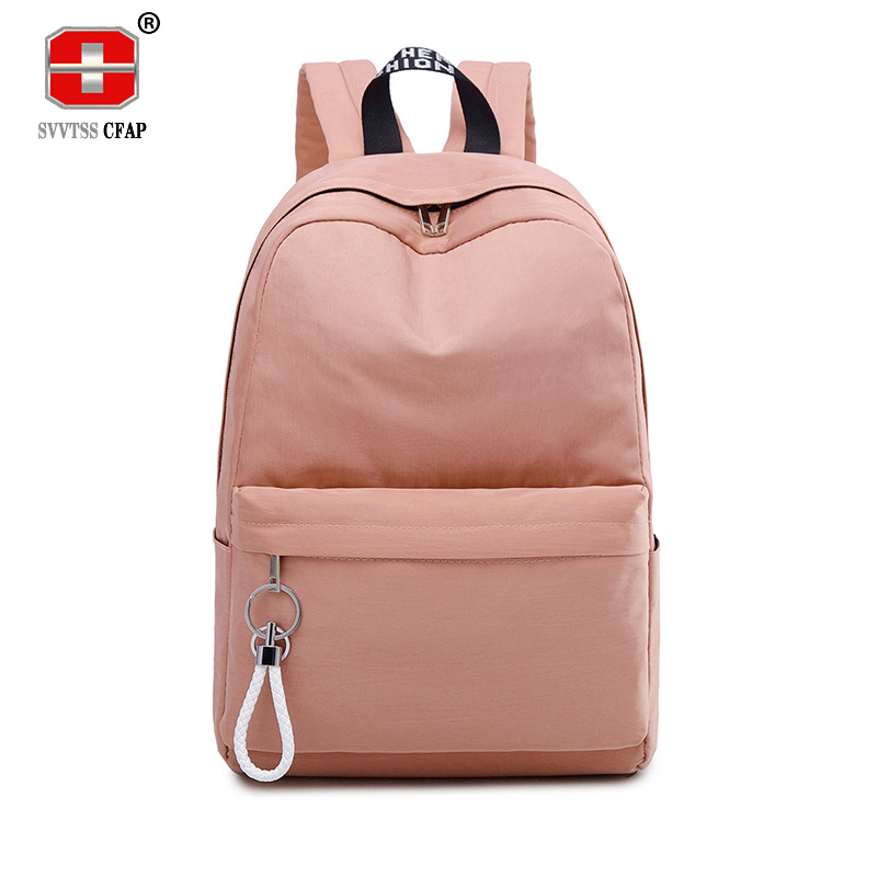 College Wind Schoolbag Backpack Female Teenage Girls High School Student School Bags Nylon Bagpack Women Bags Large Capacity New ...