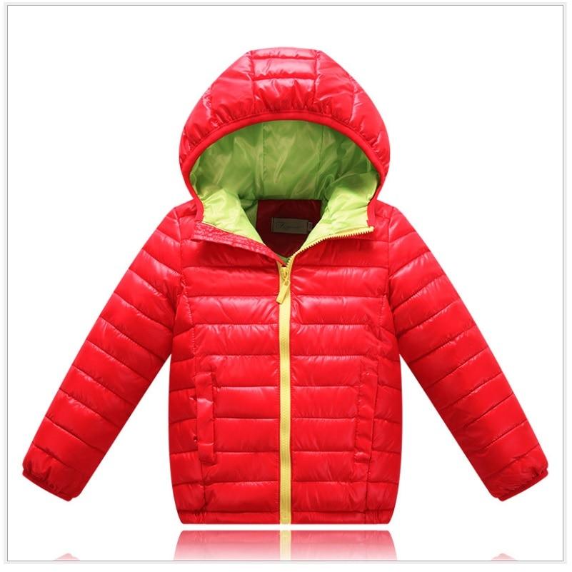 2016 Boys Down Jackets Children Clothing Kids Outerwear Girls Coats Down & Parkas For Boys Winter Parka