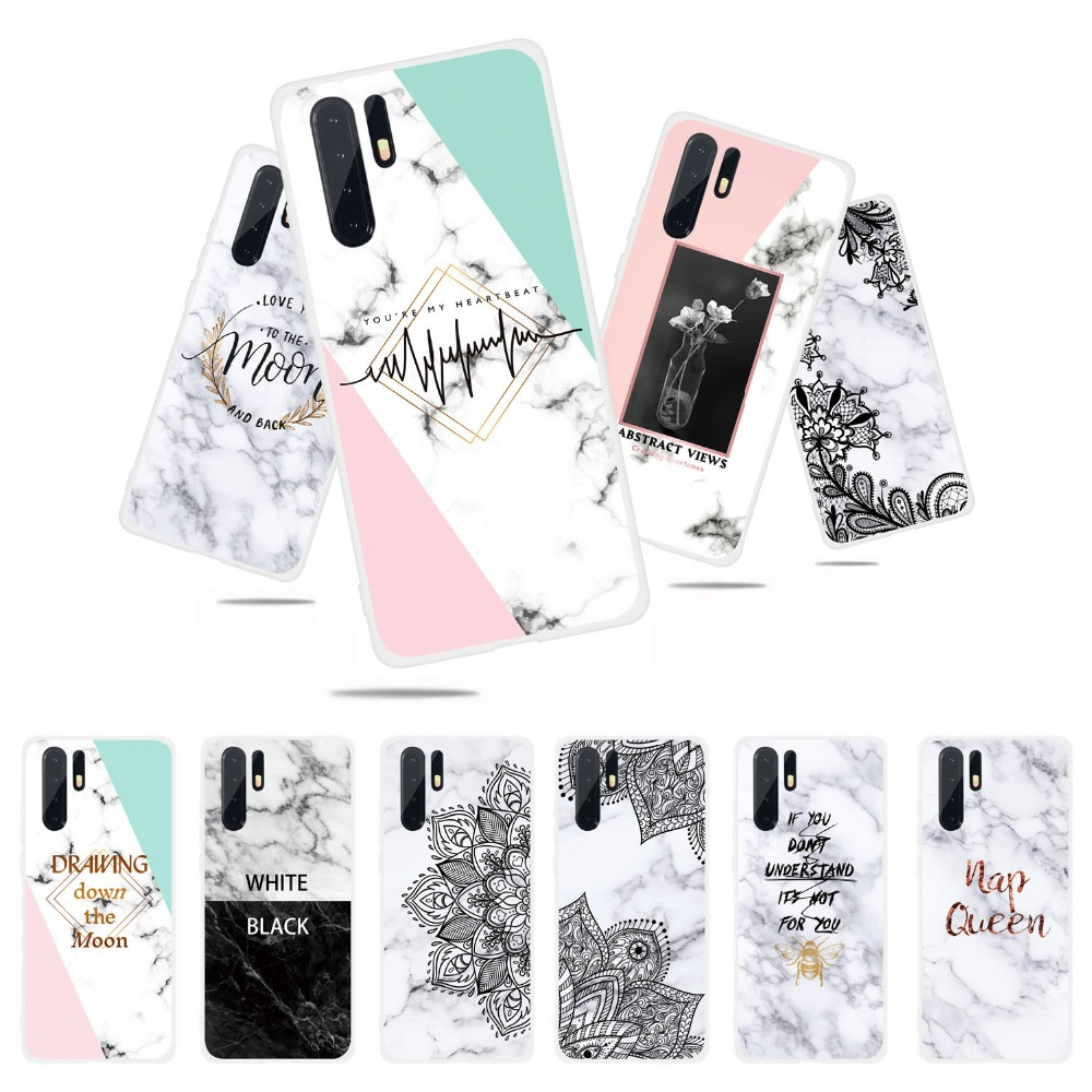 Case For Huawei P30 Pro P20 Lite P10 P Smart 2019 Marble Soft Silicone TPU Phone Cases For Huawei P30 P20 Pro PSmart 2019 Cover  (17)