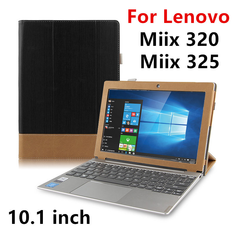 Case Cover For Lenovo Miix 320 Protective miix 325 Cover Leather Tablet For Ideapad MIIX320 10.1 inch PU Protector Sleeve Cases genuine leather for lenovo miix 510 case ideapad miix 5 protective smart cover tablet miix5 protector miix510 sleeve cowhide