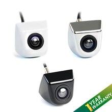 Cámara de vehículo cámara de visión trasera Auto CCD HD aparcamiento reverso cámara de visión trasera Monitor 170 grados carcasa de metal impermeable