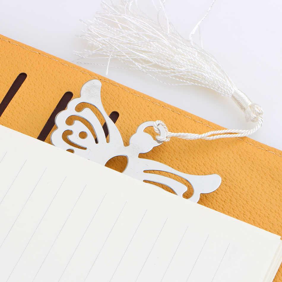 Серебряный Ангел Закладки для крещения Baby Shower Сувениры вечерние крещение щедрый подарок свадебные подарки для гостей 50 шт. подарочная коробка