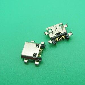 Image 3 - 50 adet/grup Yeni Şarj mikro usb şarj istasyonu konektör soket Samsung J5 Başbakan On5 G5700 J7 Başbakan On7 G6100 G530 G532