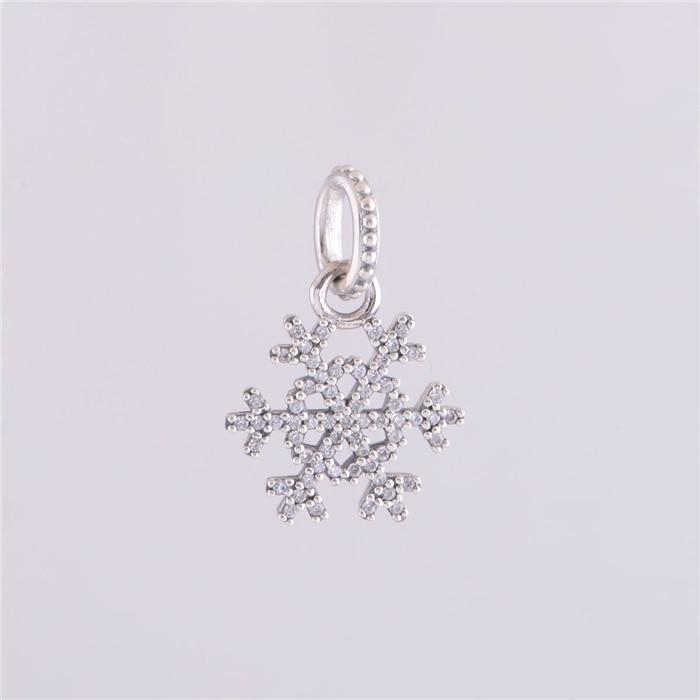 pandora charm fiocco di neve luccicante