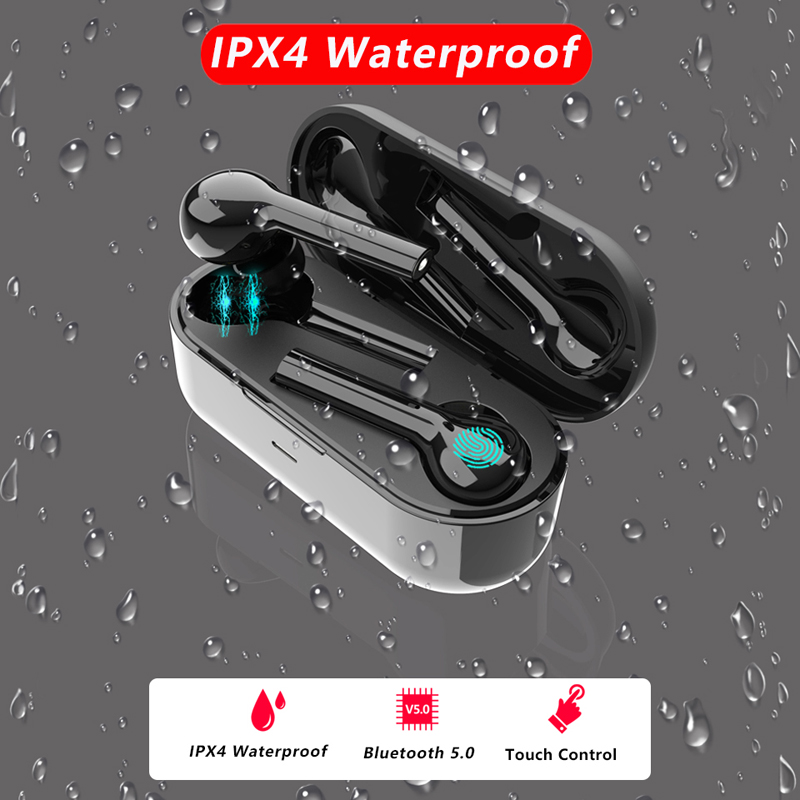 Sans fil Bluetooth5.0 air pod Écouteur JS18 FreeBud étanche Sans Fil Écouteurs Stéréo Bluetooth casque Pour iphone xiaomi huawei - 3