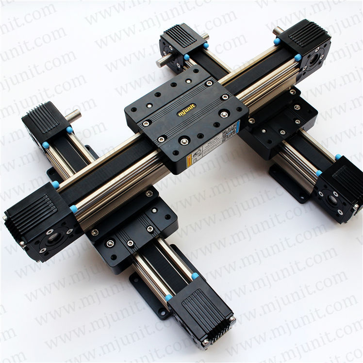 LINEAR BELT DRIVE ACTUATOR WITH MOTOR BRACKET Robot Belt Drive Linear Actuator within 3000mm Travel custom length robot belt drive linear actuator 1000mm travel linear units with belt drive and slide guide wheel guide