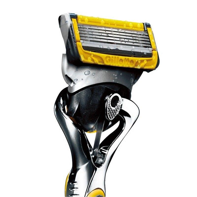 Original Gillette Fusion ProShield Razor Blades Brand FlexBall Shaver 5 Layer Shaving Razor Blade for Face Care