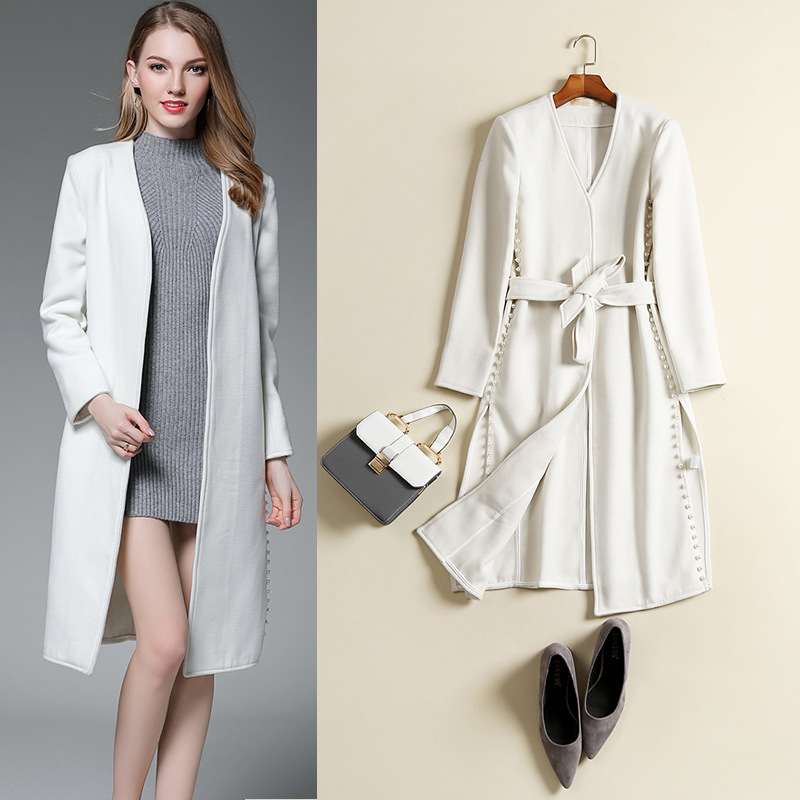 Popular Womens White Wool Coat-Buy Cheap Womens White Wool Coat ...