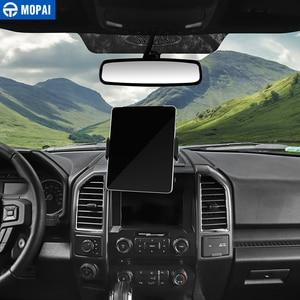 Image 4 - MOPAI Auto GPS Del Telefono Mobile Ipad Staffa di Supporto Del Cellulare Del Basamento Adesivi per Ford F150 2015 Up Interni Accessori Auto Car Styling