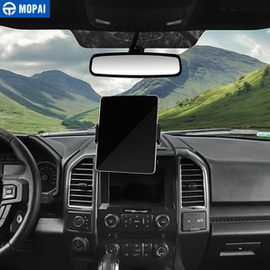 Image 4 - MOPAI Car GPS Mobile Phone Ipad Holder Bracket Cellphone Stand Stickers for Ford F150 2015 Up Interior Accessories Car Styling