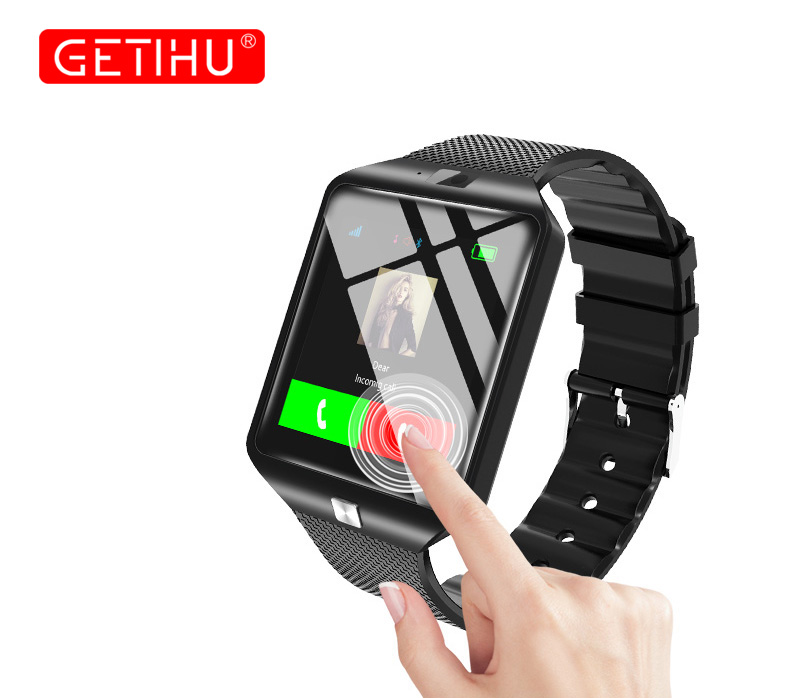 GETIHU DZ09 Smartwatch Smart Watch Digital Men Watch For Apple iPhone Samsung Android Mobile Phone Bluetooth SIM TF Card Camera 15