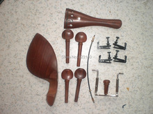1 Set ROSEWOOD font b Violin b font fitting with Fine tuners ect 4 4