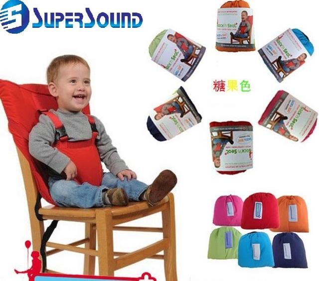 Almofada Do Assento Do bebê Assento da Segurança Do Bebê Crianças Infantil Crianças Cadeira de Alimentação da Correia Transportadora Arnês Ajustável Folding Portátil