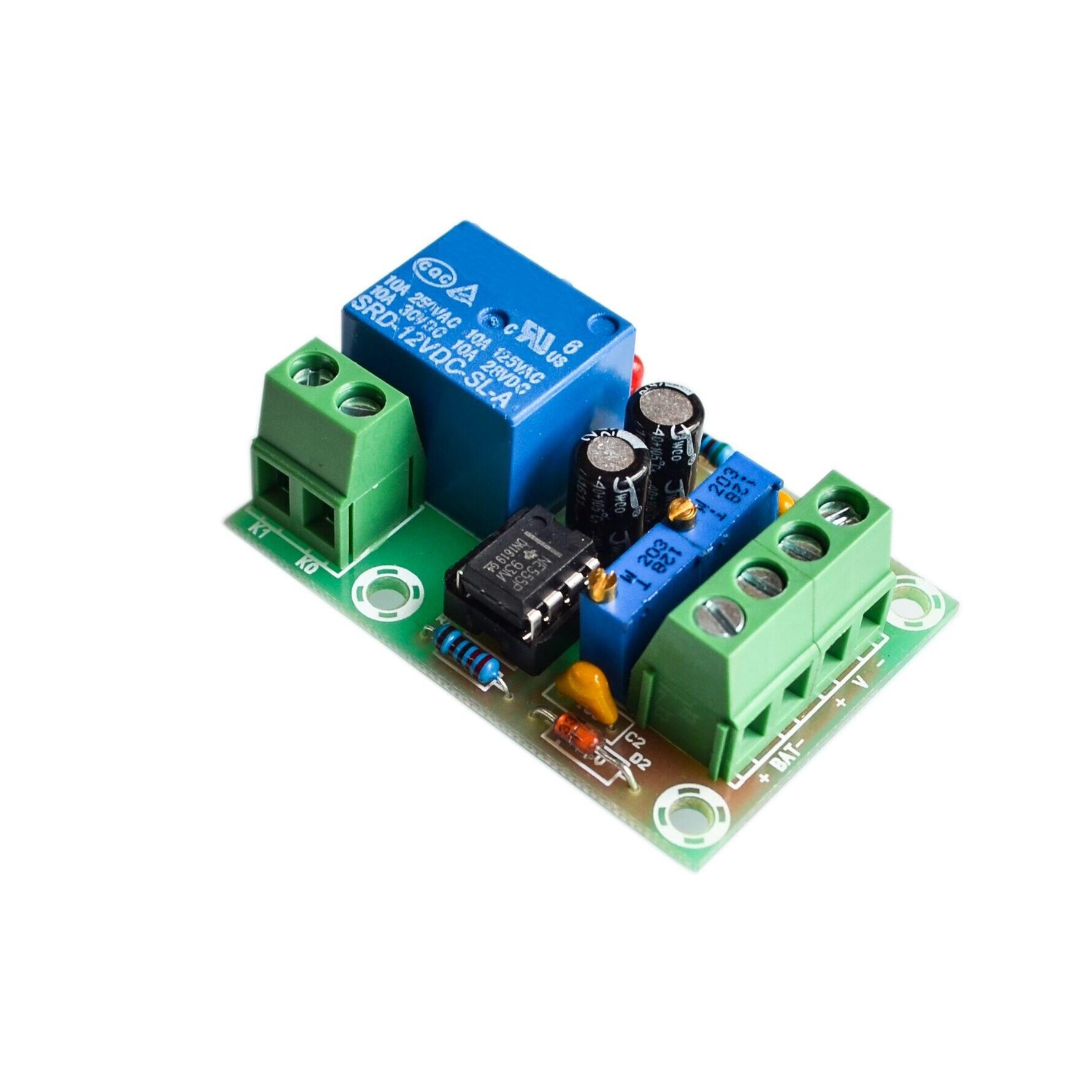 Умное зарядное устройство, панель управления мощностью 12 В, автоматическая зарядка