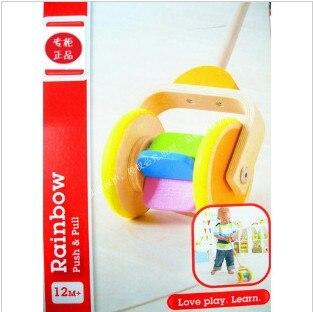 hape spielzeug 1 2 jahre altes kleinkind single pol wagen baby geschenk in hape spielzeug 1 2. Black Bedroom Furniture Sets. Home Design Ideas