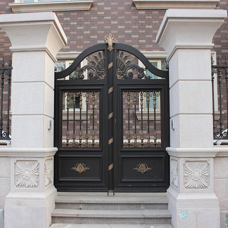 Aluminum Entrance Villa Garden Gate Designs Hc-a3