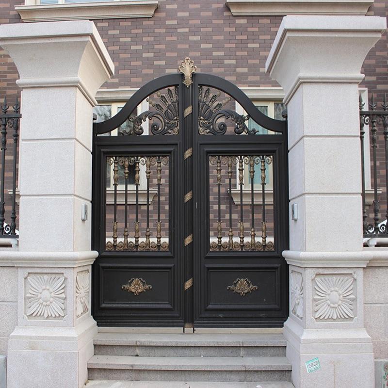 Aluminum Entrance Villa Garden Gate Designs Hc-a3